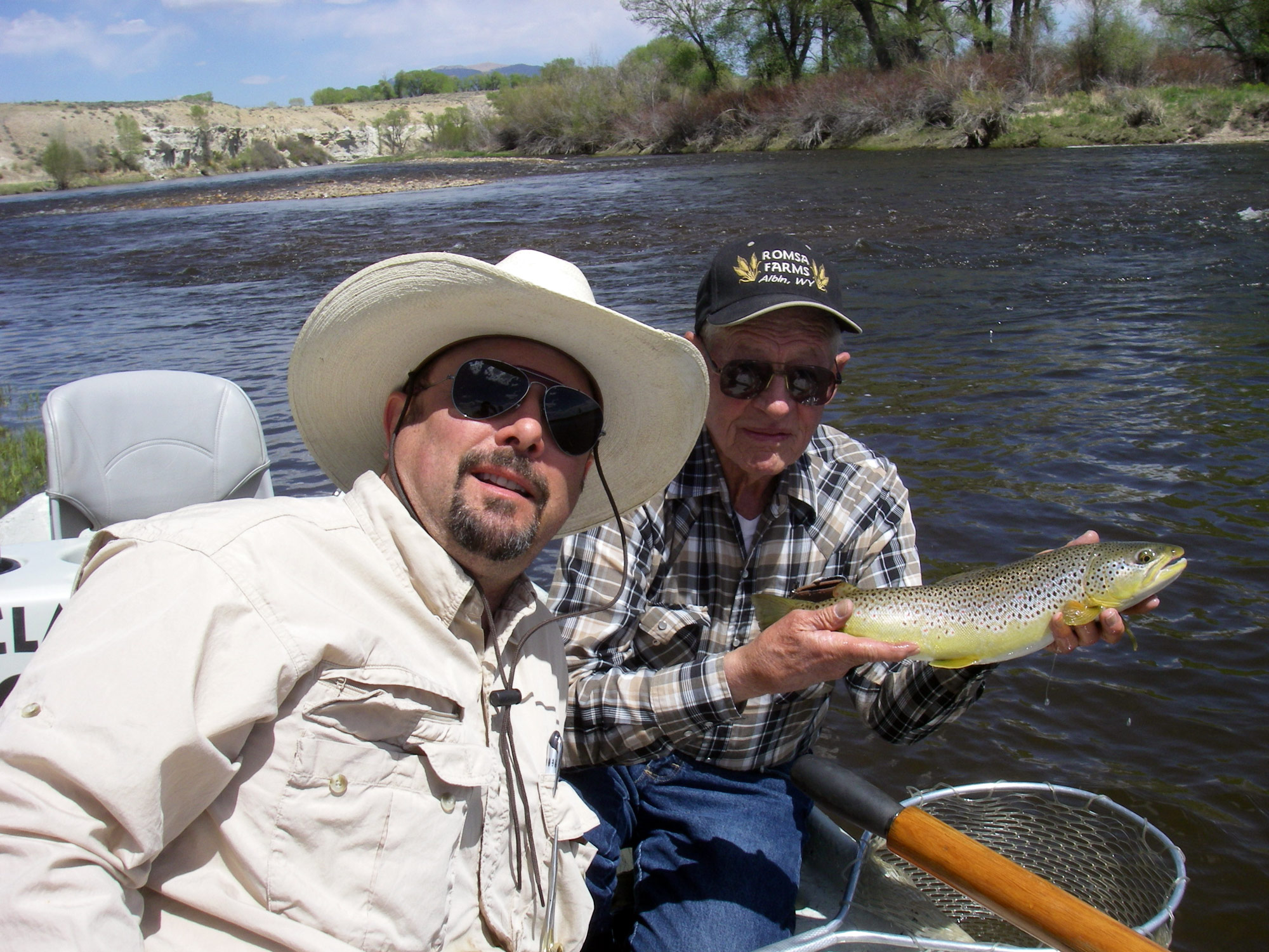 Wyoming fishing and hunting licenses four seasons anglers for Wyoming fishing license