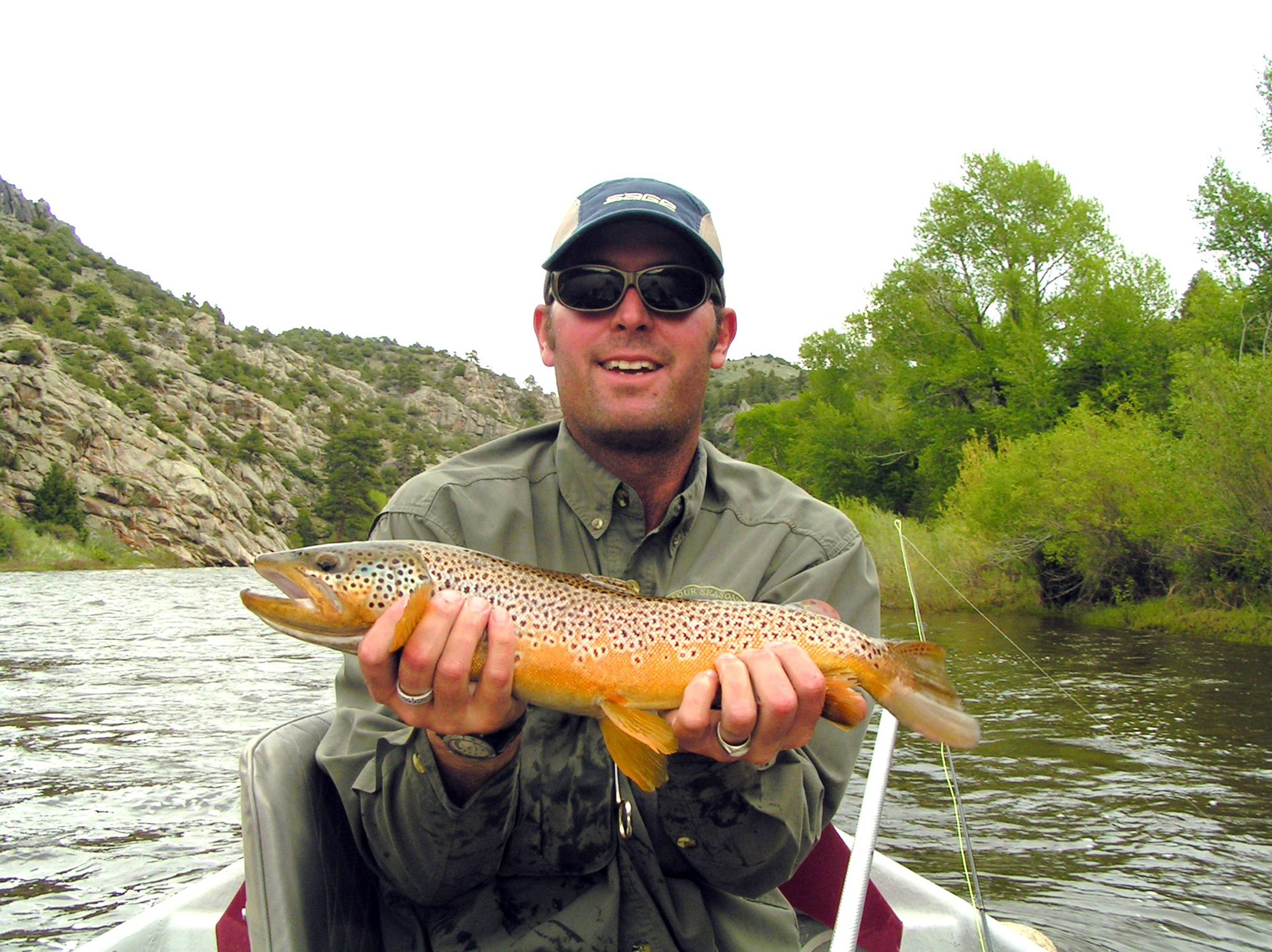 Upper north platte river four seasons anglers for Miracle mile fishing report