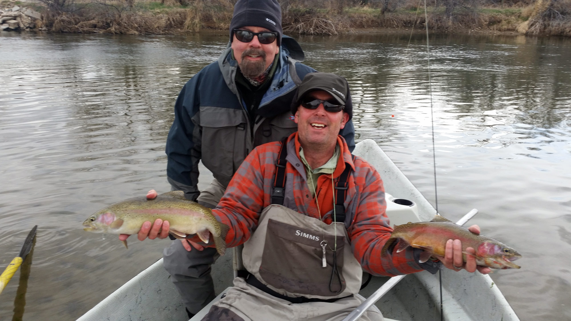 2 day bighorn river trip four seasons anglers for Bighorn river fishing report