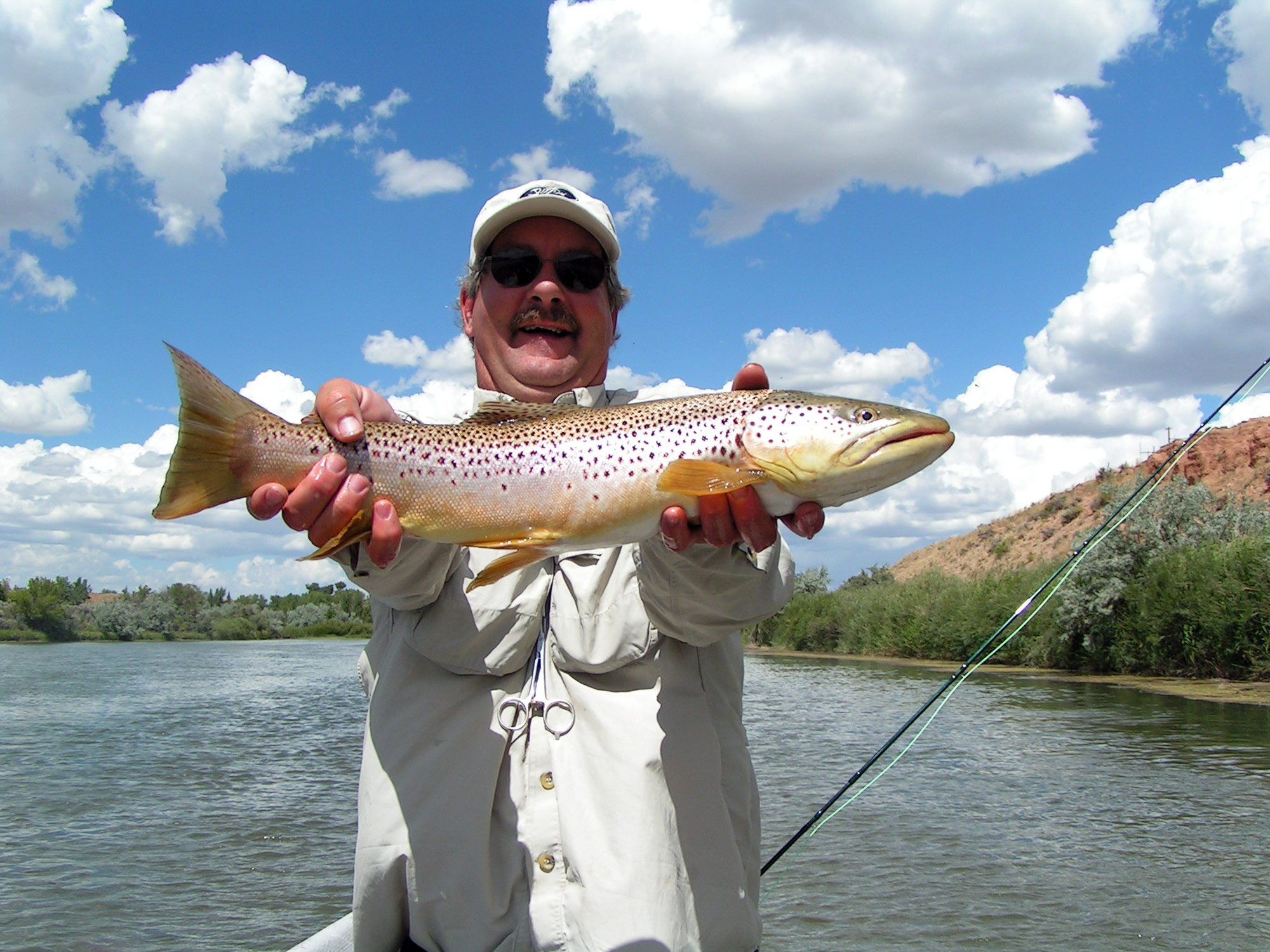 Miracle mile four seasons anglers for Miracle mile fishing